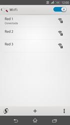 Sony Xperia E4g - WiFi - Conectarse a una red WiFi - Paso 8