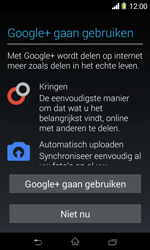 Sony D2005 Xperia E1 - Applicaties - Account aanmaken - Stap 14