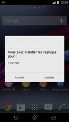 Sony D5503 Xperia Z1 Compact - Internet - configuration automatique - Étape 6
