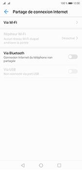 Huawei P20 pro - Internet et connexion - Partager votre connexion en Wi-Fi - Étape 5