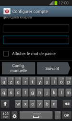 Samsung Galaxy Express - E-mails - Ajouter ou modifier un compte e-mail - Étape 6