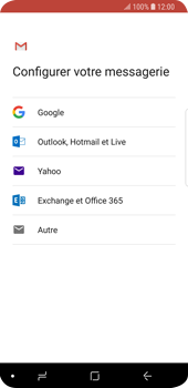Samsung Galaxy S9 - E-mails - Ajouter ou modifier votre compte Gmail - Étape 8