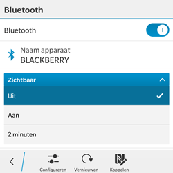 BlackBerry Classic - Bluetooth - Aanzetten - Stap 7