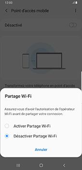 Samsung Galaxy S9 Plus - Android Pie - Internet - comment configurer un point d'accès mobile - Étape 7