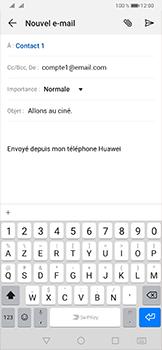 Huawei P30 - E-mail - envoyer un e-mail - Étape 8
