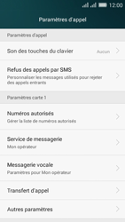 Huawei Y635 Dual SIM - Messagerie vocale - Configuration manuelle - Étape 5