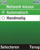 Samsung E1280 - Buitenland - Bellen, sms en internet - Stap 5