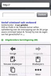 HTC A6262 Hero - Internet - Internetten - Stap 10