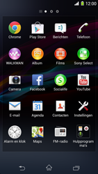 Sony Xperia Z1 4G (C6903) - Internet - Handmatig instellen - Stap 2