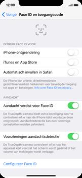 Apple iphone-x-met-ios-11-model-a1901 - Face ID en Animoji - Face ID inschakelen - Stap 4