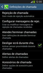 Samsung Galaxy Grand Neo - Chamadas - Bloquear chamadas de um número -  6