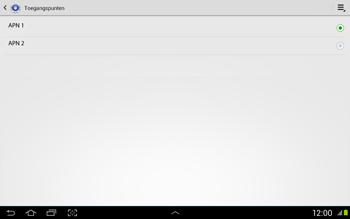 Samsung N8020 Galaxy Note 10-1 LTE - Internet - Handmatig instellen - Stap 14