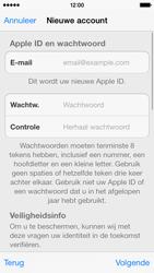Apple iPhone 5c - Applicaties - Account aanmaken - Stap 12