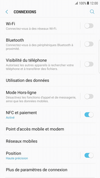 Samsung Galaxy S6 Edge+ - Android Nougat - Wifi - configuration manuelle - Étape 4