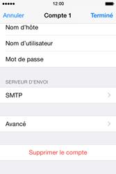 Apple iPhone 4S (iOS 8) - E-mails - Ajouter ou modifier un compte e-mail - Étape 22