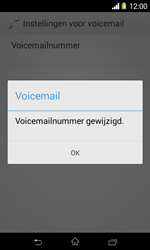 Sony Xperia E1 (D2005) - Voicemail - Handmatig instellen - Stap 9