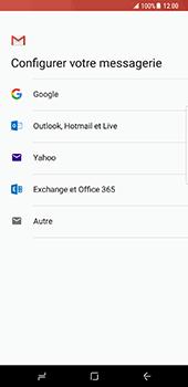 Samsung Galaxy S8 Plus - E-mail - Configuration manuelle (gmail) - Étape 8