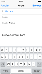 Apple iPhone 5c - E-mail - envoyer un e-mail - Étape 6