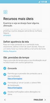 Samsung Galaxy S8 - Primeiros passos - Como ativar seu aparelho - Etapa 18