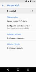 Nokia 3.1 - Internet et connexion - Partager votre connexion en Wi-Fi - Étape 7
