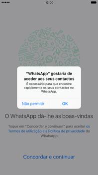 Apple iPhone 7 Plus - Aplicações - Como configurar o WhatsApp -  5