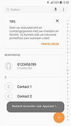 Samsung Galaxy S6 Edge - Android Nougat - Contacten en data - Contacten overzetten via Bluetooth - Stap 10
