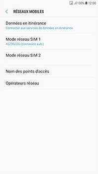 Samsung Galaxy J7 (2017) - Réseau - Changer mode réseau - Étape 6