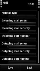 Nokia 500 - Email - Manual configuration POP3 with SMTP verification - Step 11