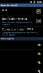 Samsung I8530 Galaxy Beam - Wifi - configuration manuelle - Étape 6