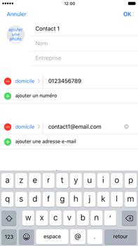 Apple iPhone 7 Plus - Contact, Appels, SMS/MMS - Ajouter un contact - Étape 11
