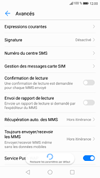 Huawei P9 - Android Nougat - SMS - configuration manuelle - Étape 7
