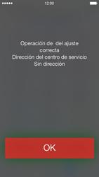 Apple iPhone 5s - Mensajería - Configurar el equipo para mensajes de texto - Paso 6