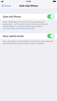 Apple iPhone 8 Plus - iOS 12 - Beveiliging en privacy - zoek mijn iPhone activeren - Stap 13