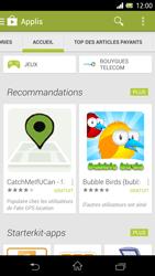 Sony Xpéria Z - Applications - Télécharger une application - Étape 5
