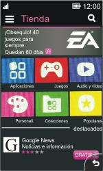 Nokia Asha 311 - Aplicaciones - Tienda de aplicaciones - Paso 4