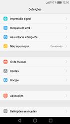 Huawei Honor 8 - Segurança - Como ativar o código de bloqueio do ecrã -  4