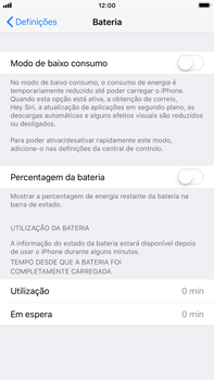 Apple iPhone 8 Plus - Bateria - Como modo de poupança -  4