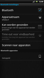 Sony LT22i Xperia P - Bluetooth - headset, carkit verbinding - Stap 10