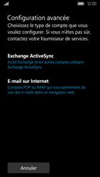 Acer Liquid M330 - E-mail - Configuration manuelle - Étape 9