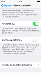 Apple iPhone 5 iOS 7 - Internet - configuration manuelle - Étape 6