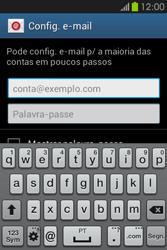 Samsung Galaxy Fame - Email - Configurar a conta de Email -  6