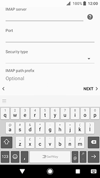 Sony Xperia XA2 Ultra - E-mail - Manual configuration - Step 13