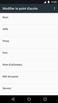 Motorola Moto Z Play - Internet - Configuration manuelle - Étape 11