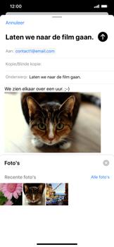 Apple iPhone XR - iOS 13 - E-mail - Bericht met attachment versturen - Stap 15