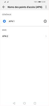 Huawei P Smart (2019) - MMS - configuration manuelle - Étape 15