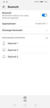 Huawei P30 - Bluetooth - koppelen met ander apparaat - Stap 8