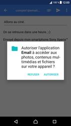 Sony Xperia XA1 - E-mails - Envoyer un e-mail - Étape 11