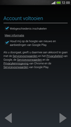 HTC Desire 601 - Applicaties - Account aanmaken - Stap 18