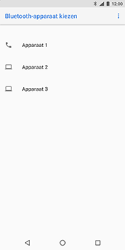Nokia 7 Plus - Contactgegevens overzetten - delen via Bluetooth - Stap 12