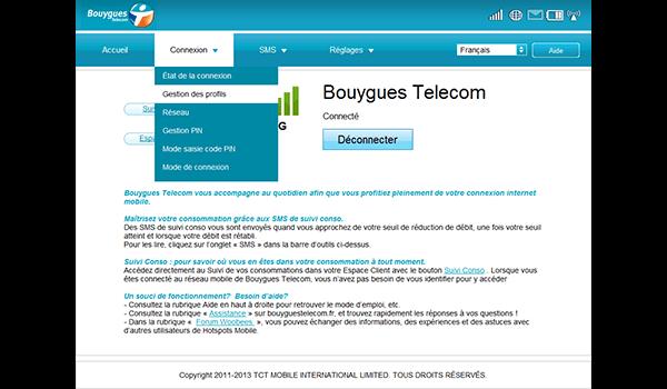 Alcatel OT-Y580D - Premiers pas - Configurer l